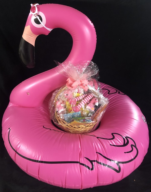 Flamingo basket