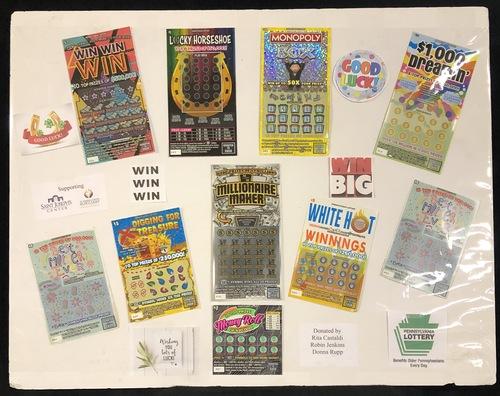 Lottery board