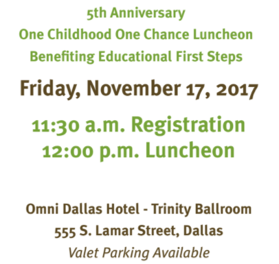 Educational first steps event