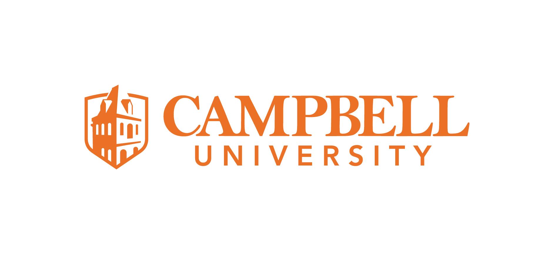 Campbell university logo horizontal align   screen   2017