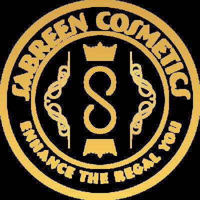 Sabreen cosmetics logo design