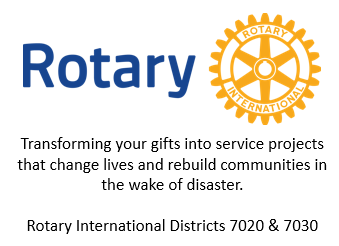 Rotary square blurb