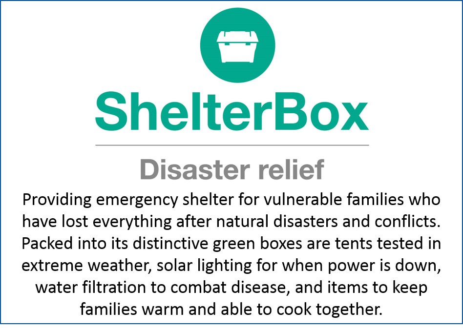 Shelterbox description