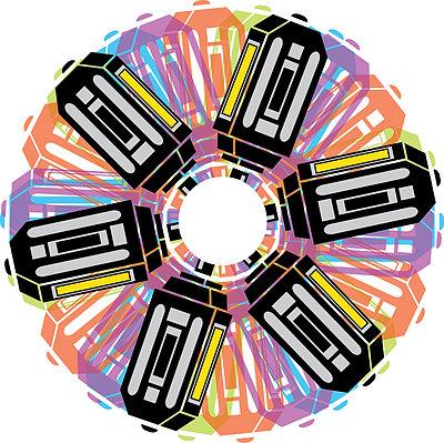 Pedalmoniumwheel of pedals