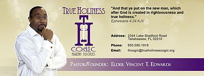 True Holiness C.O.G.I.C. Logo