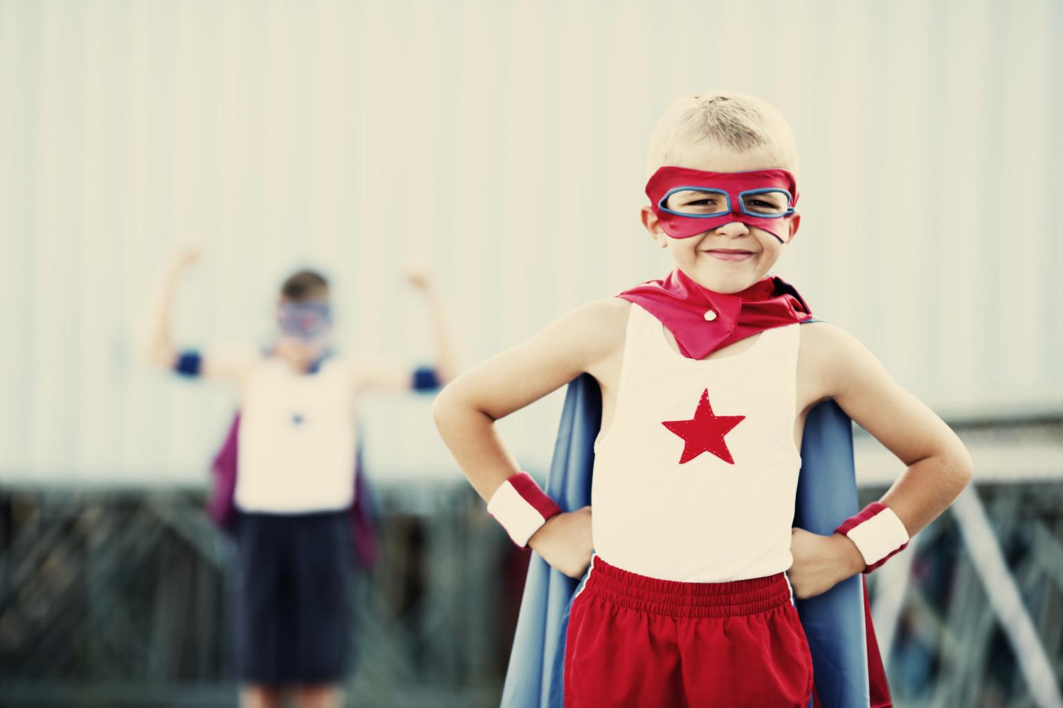 Superhero kid1