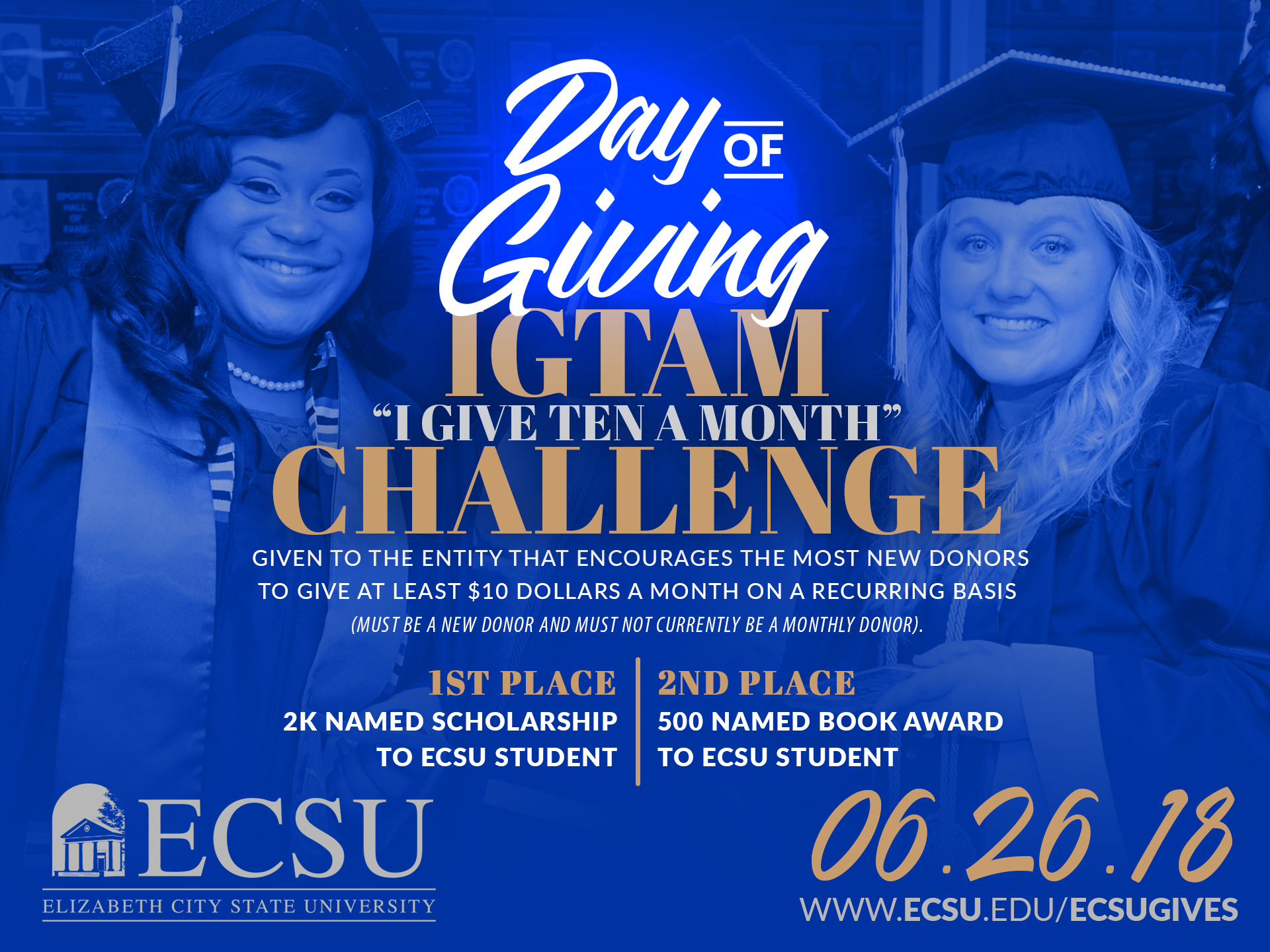 Ecsu day of giving igtam challenge5