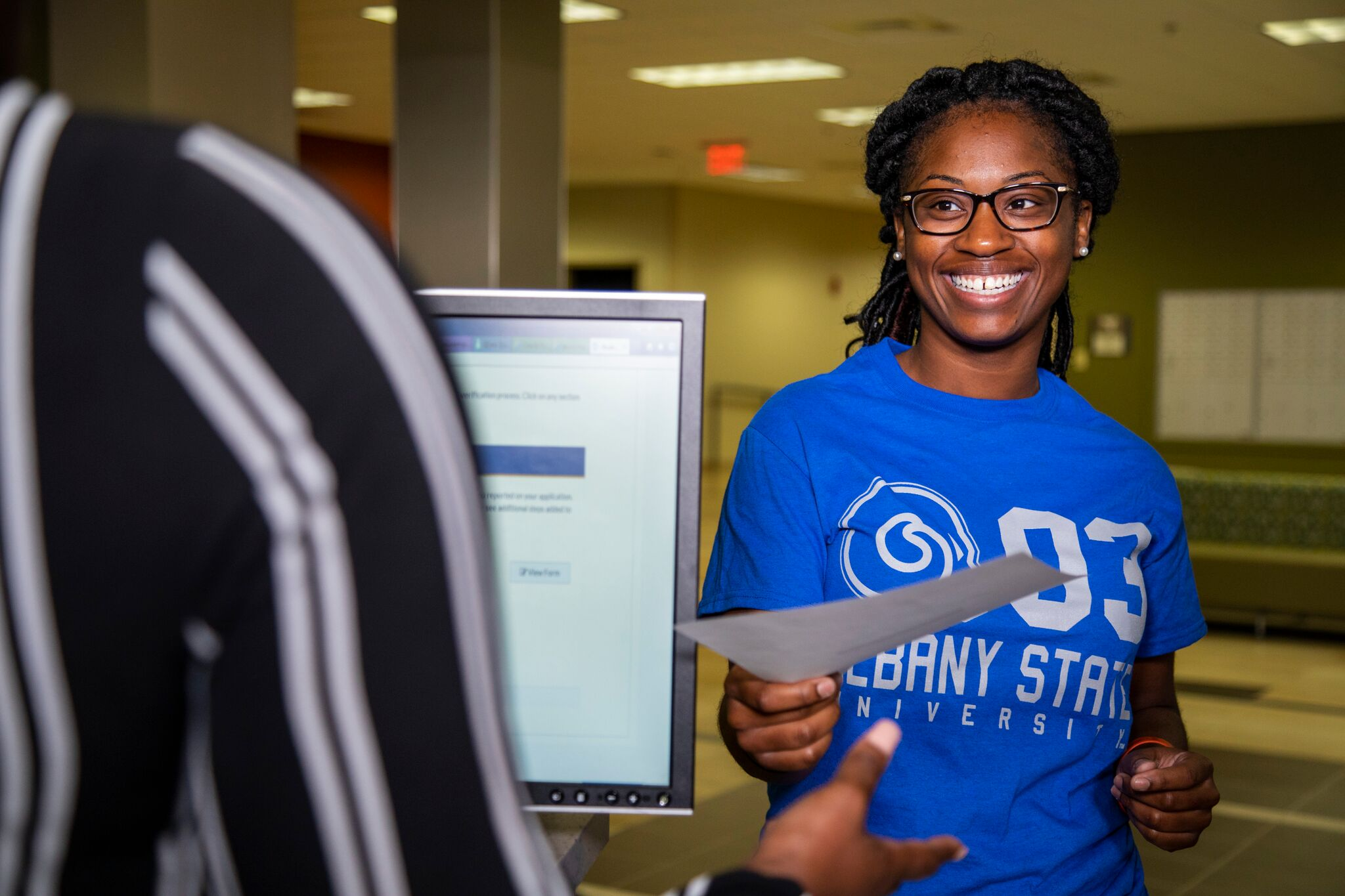 Albany student photo