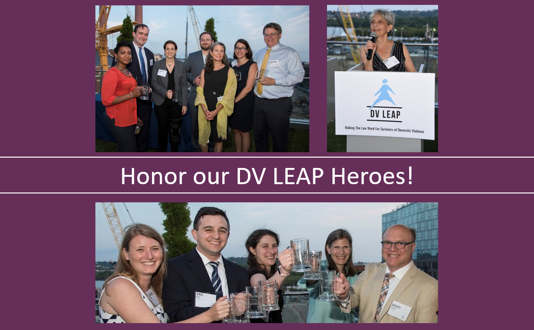 Honor our dv leap heroes