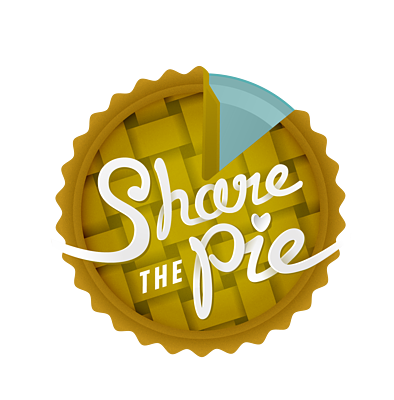 Share the Pie Logo