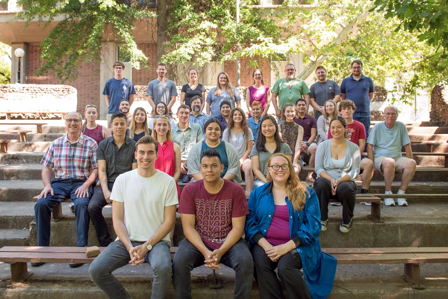 Summer 2018 research students