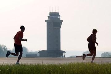 Running on runway