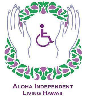 Aloha independent living logo