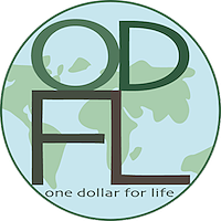 One Dollar for Life Logo