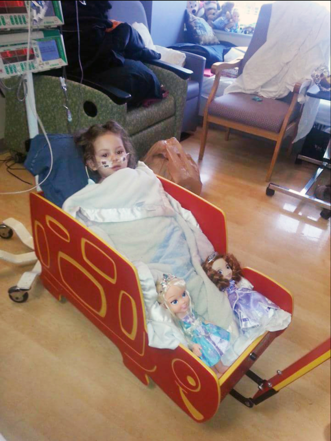 Wagon with patient %28shared with permission%29