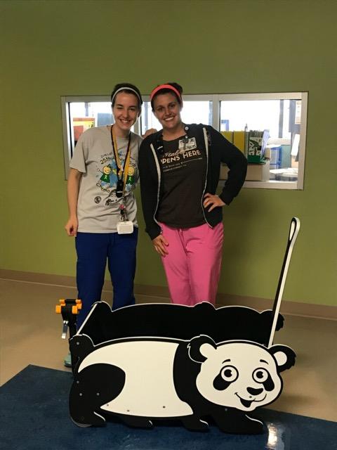 Driscollchildren'shospital panda bradybuggywagon