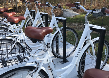 Talia bike share station