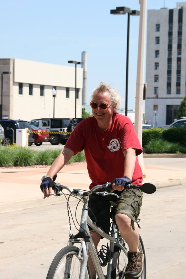 Bike rider in muskegon 2