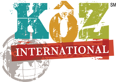 KôZ International Logo