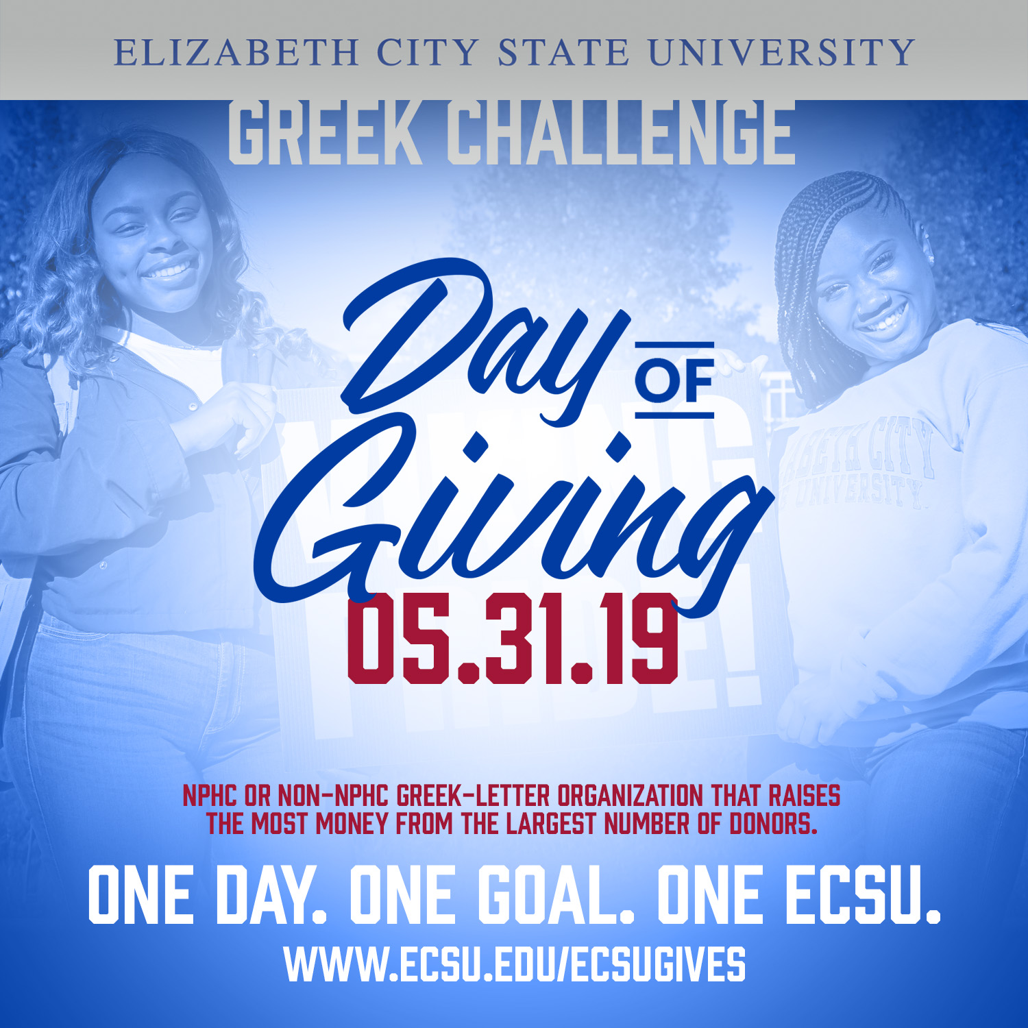 Ecsu day of giving 2019 sm greek challenge