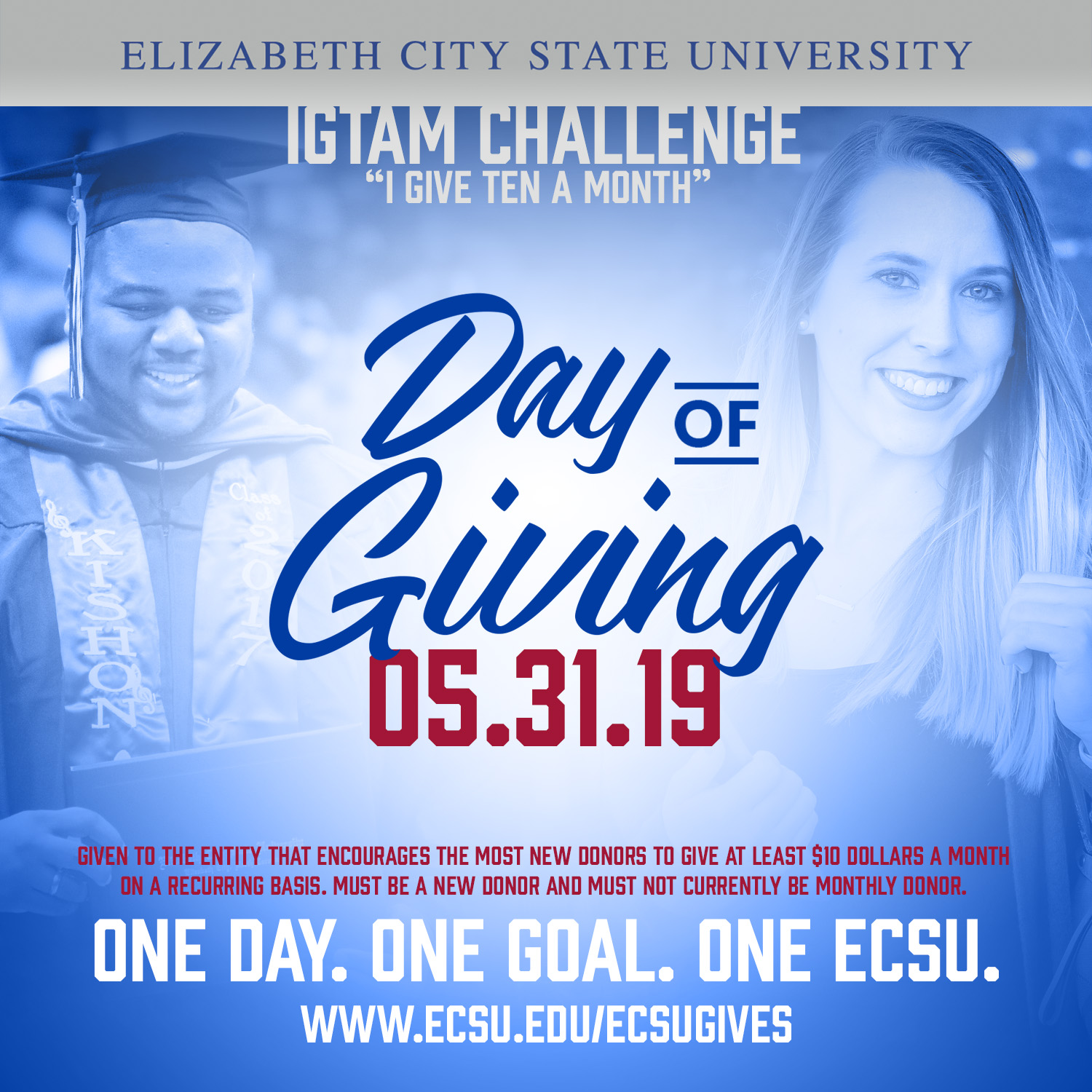 Ecsu day of giving 2019 sm igtam challenge