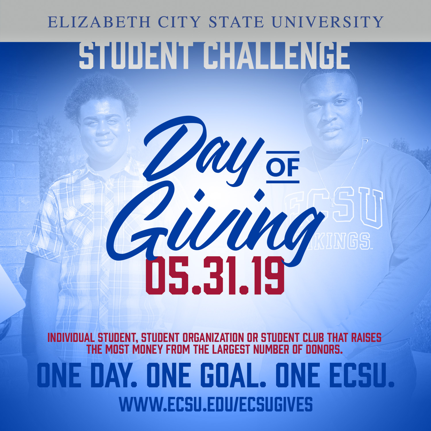 Ecsu day of giving 2019 sm student challenge
