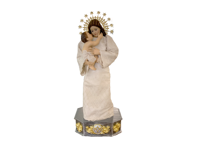 Our lady of fiat image carousel