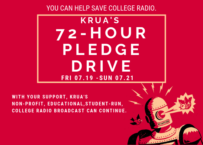 Krua's 72 hour pledge drive