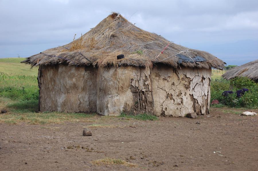 Maasi hut