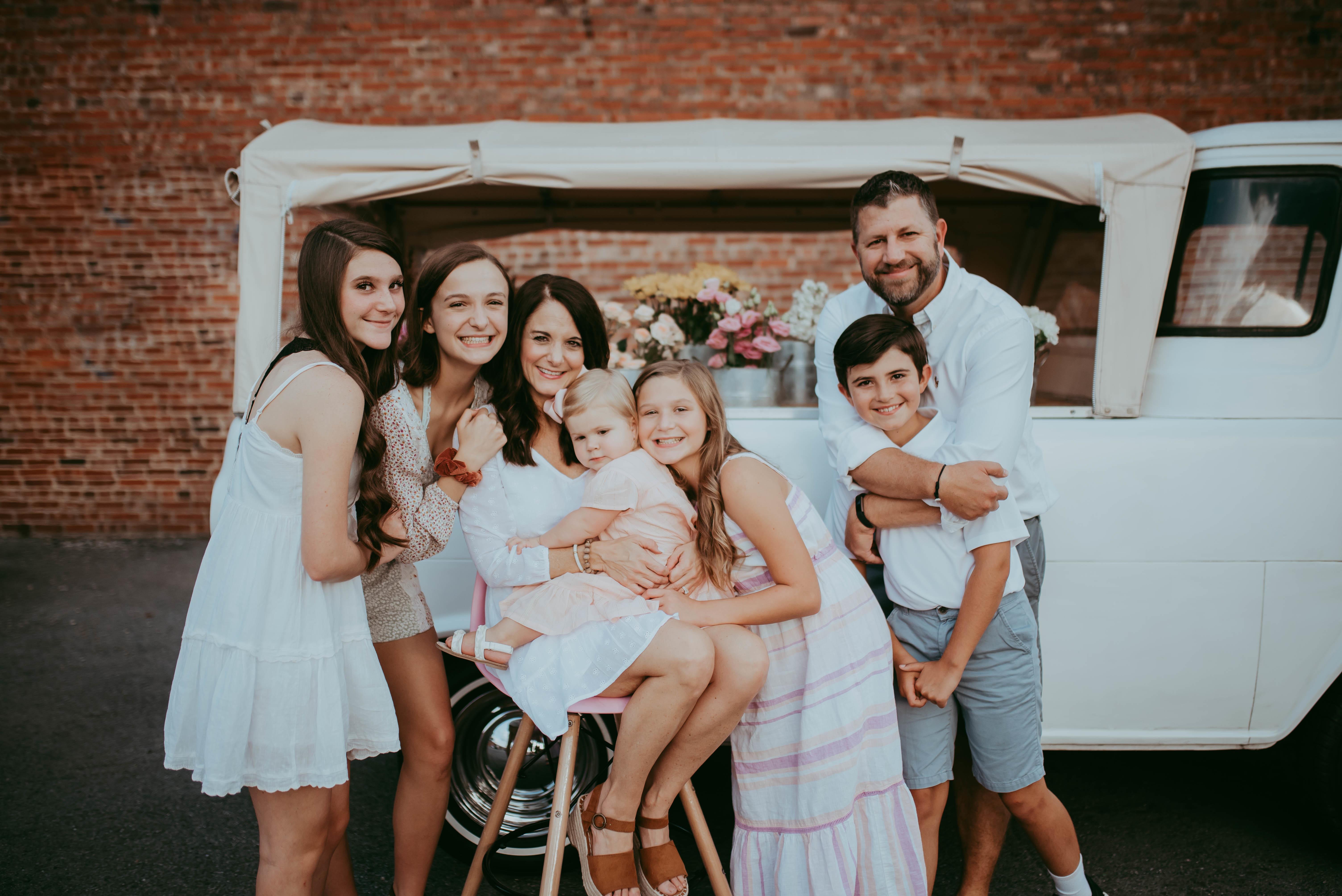 Bradford jones family picture