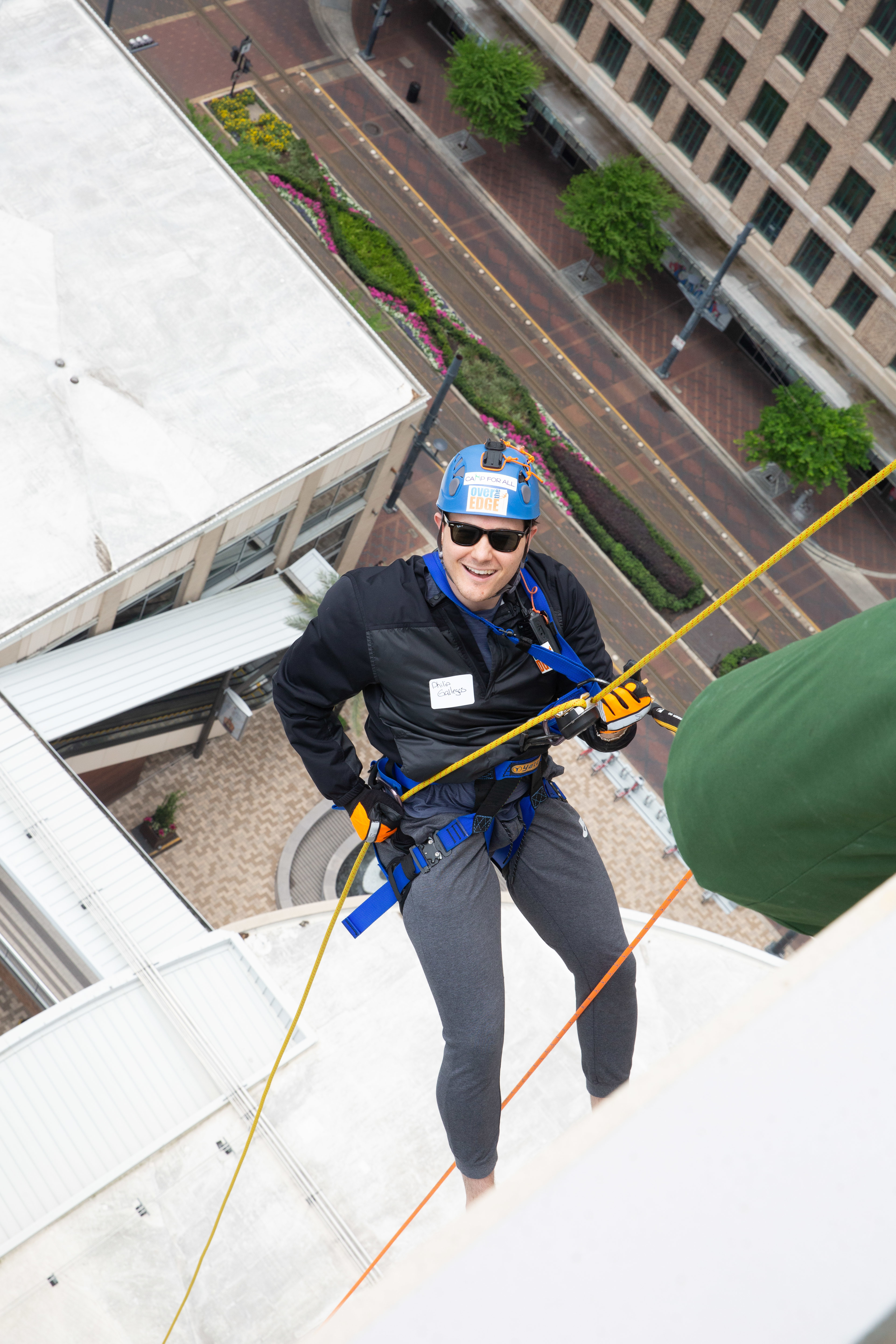 Hh over the edge for camp for all 9564