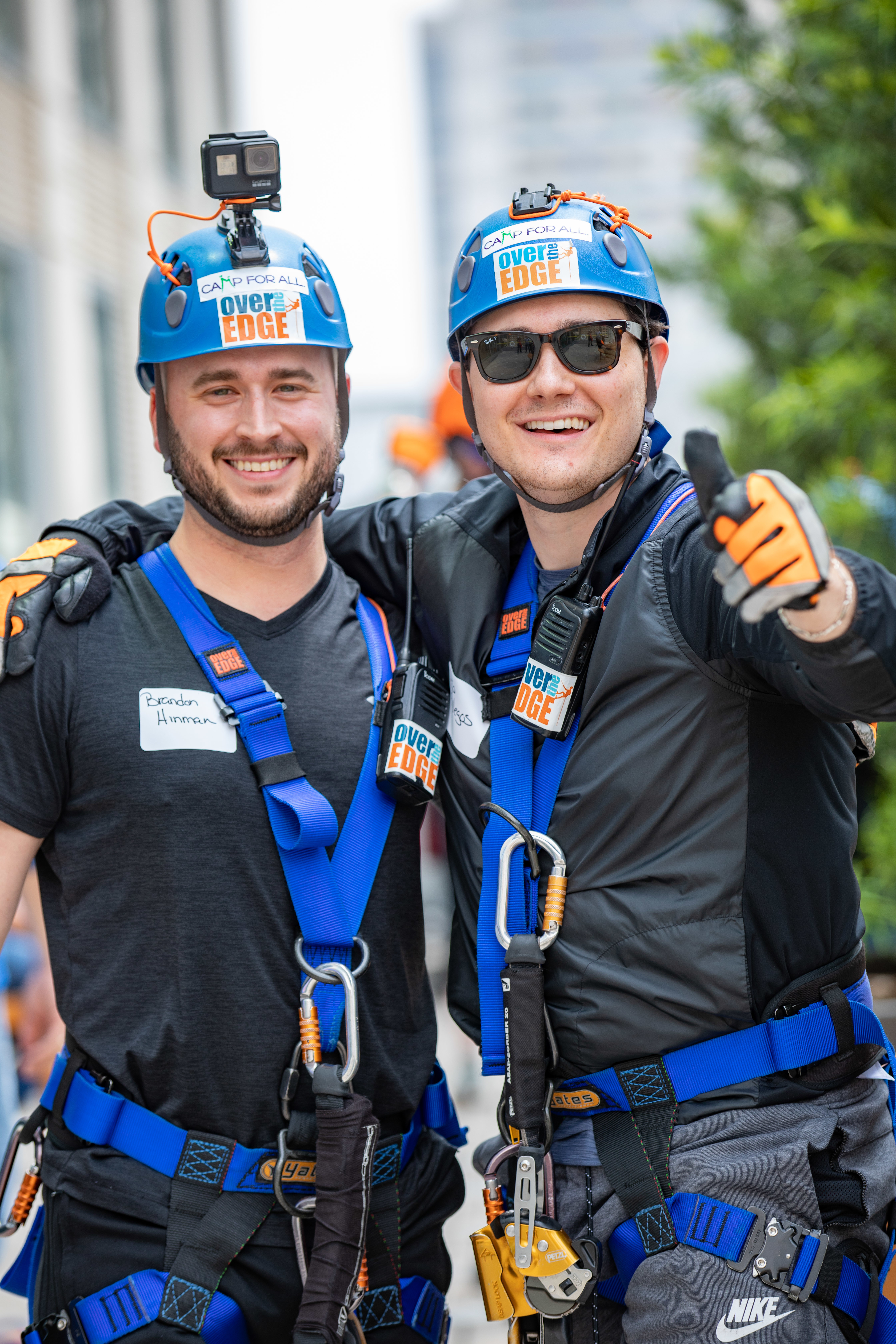 Hh over the edge for camp for all 7462