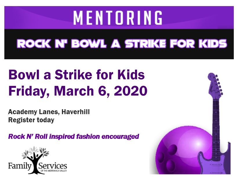 Bowl a strike for kids invitation rock and bowl graphic