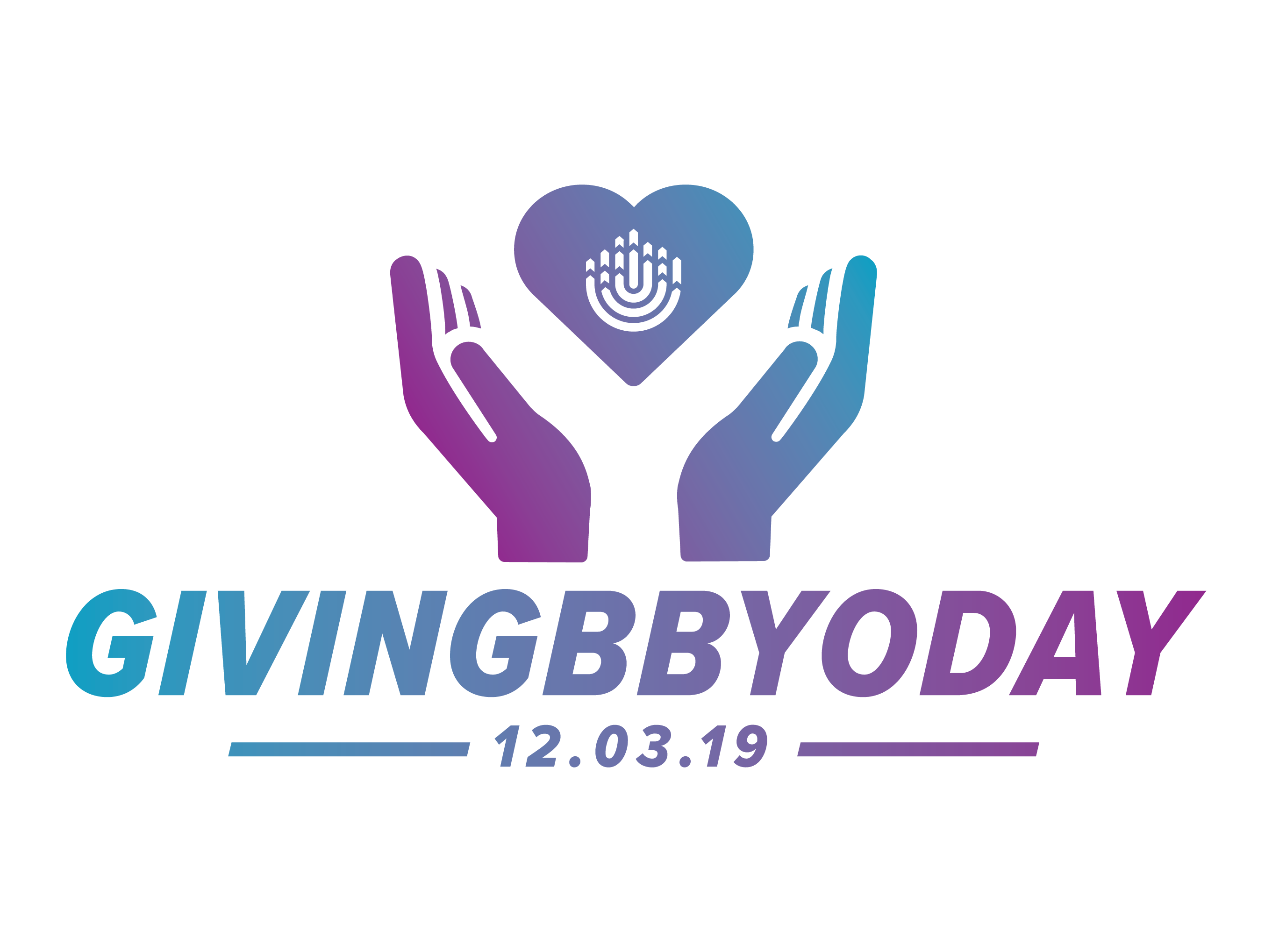 Giving bbyo day logo 2019