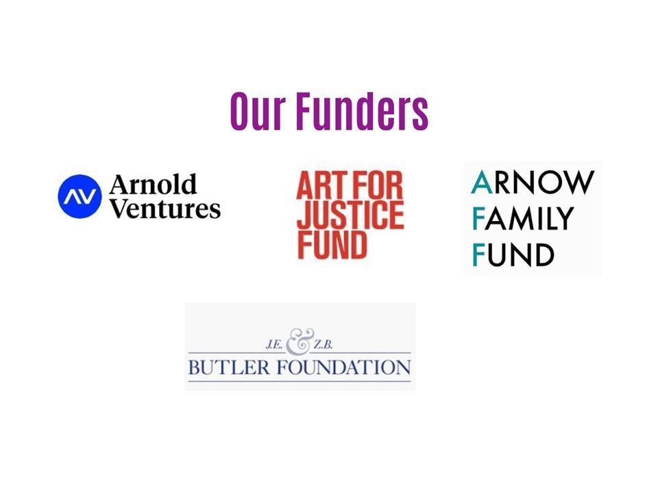 New funders slide 2