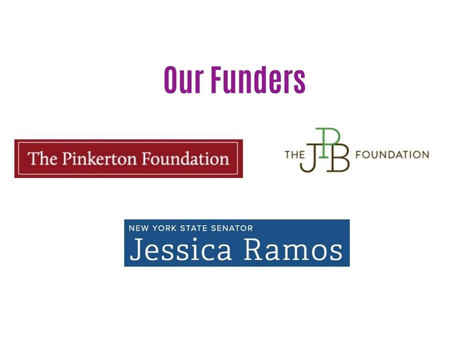 New funders slide 3