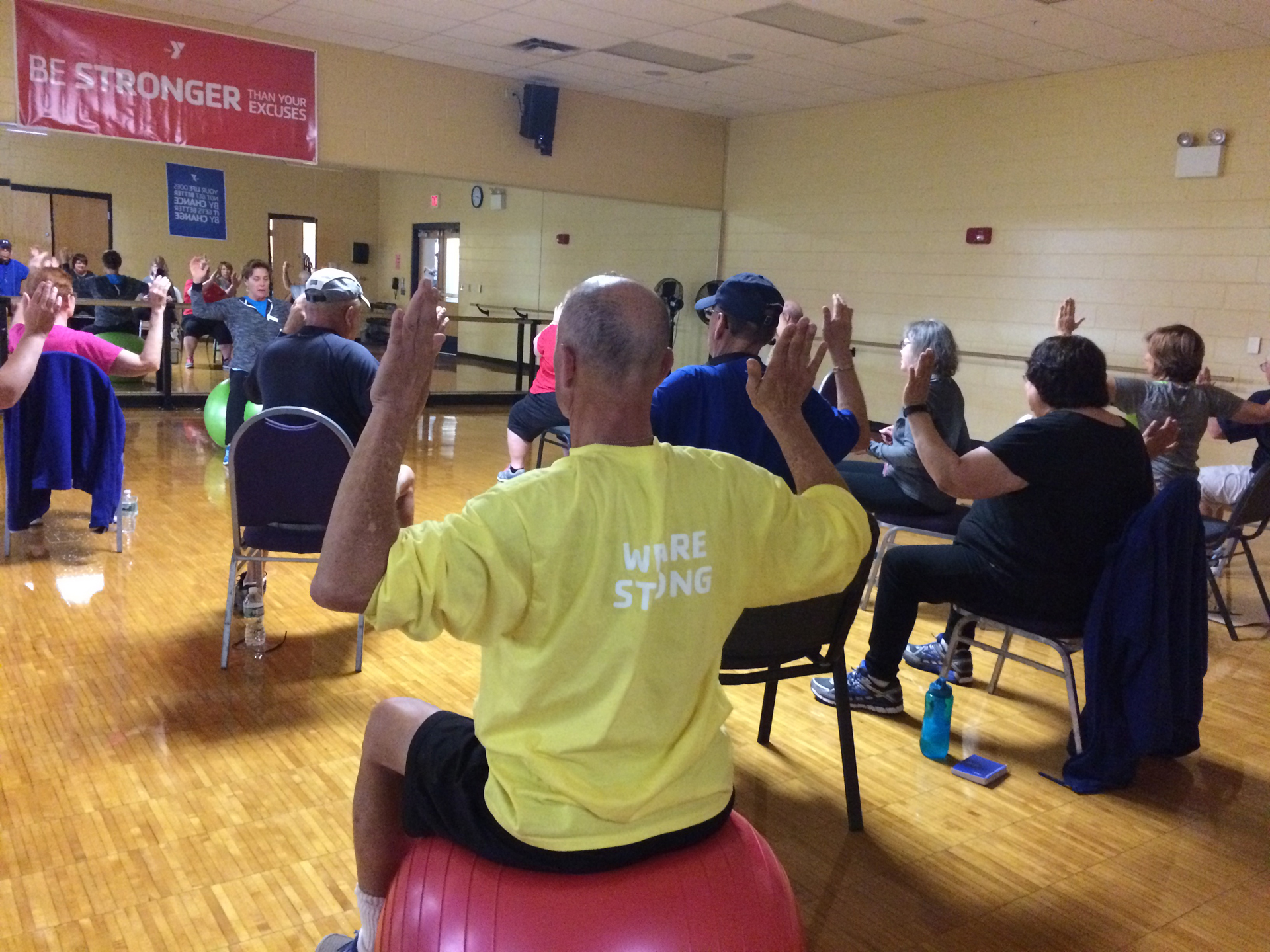 Livestrong at the y