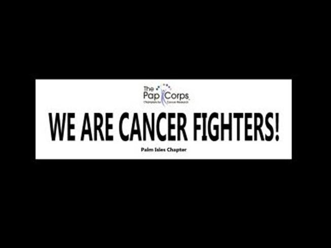 Cancer fighter banner