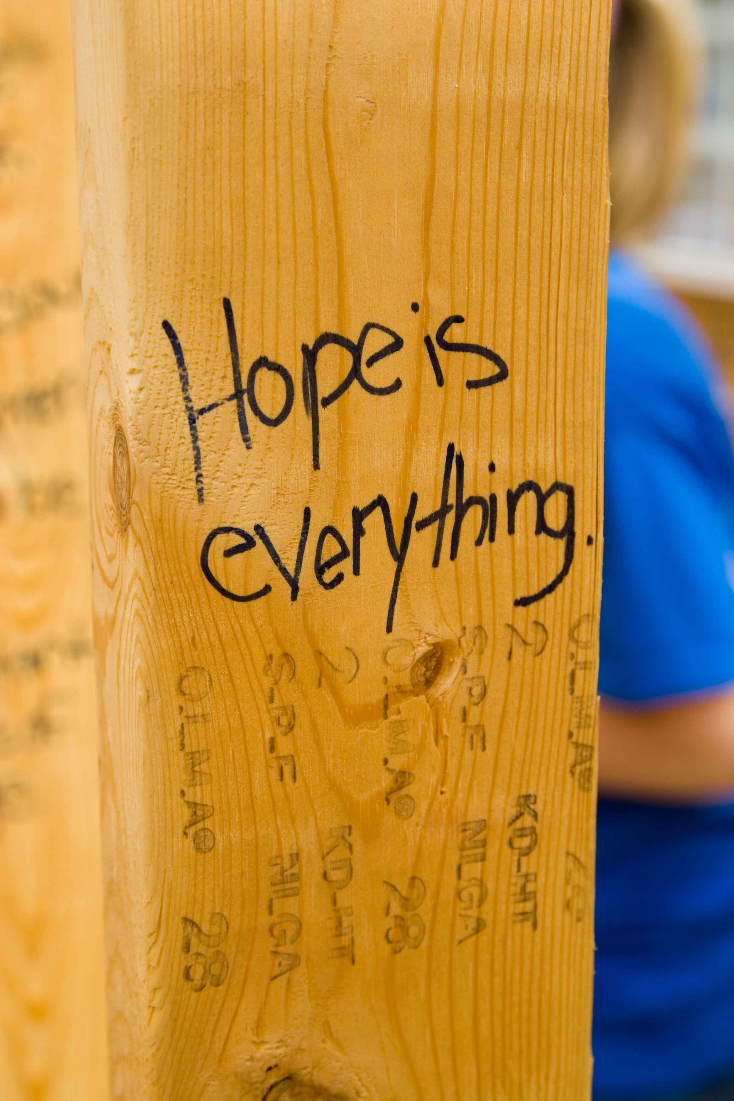Hope is everything small