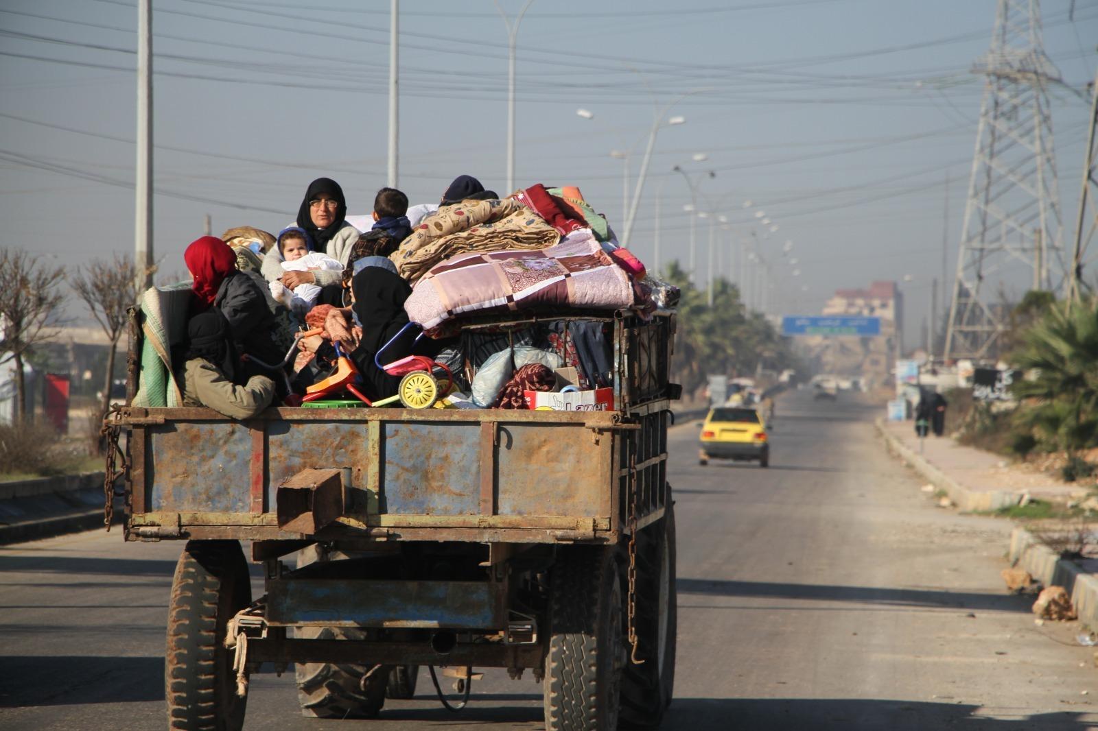 Idlib truck