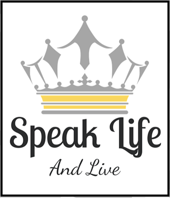 Speak life and live logo