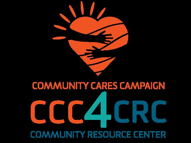 Community cares campaign logo for mc slider vertical