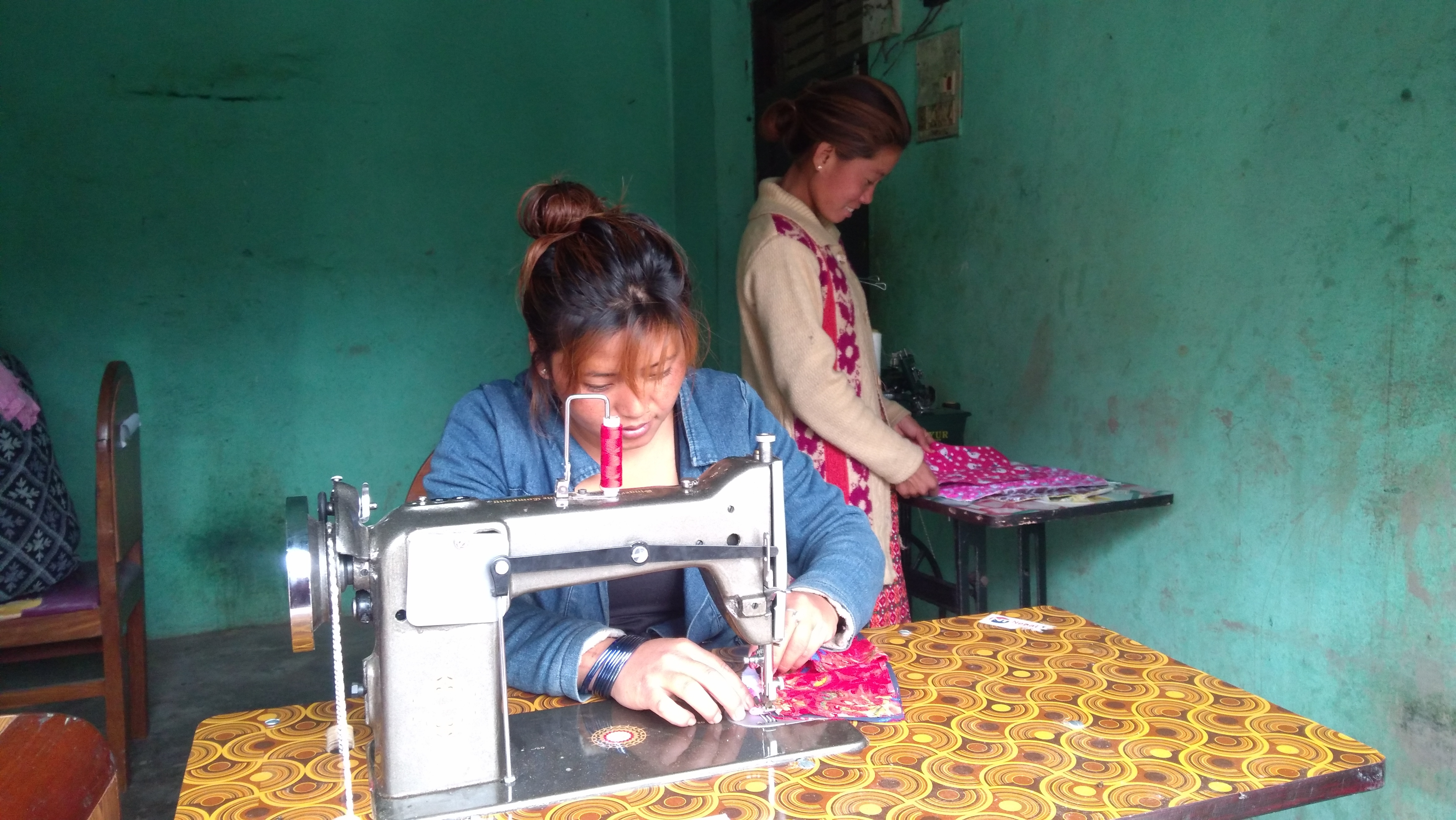 Nepal sewing center 6 19 1