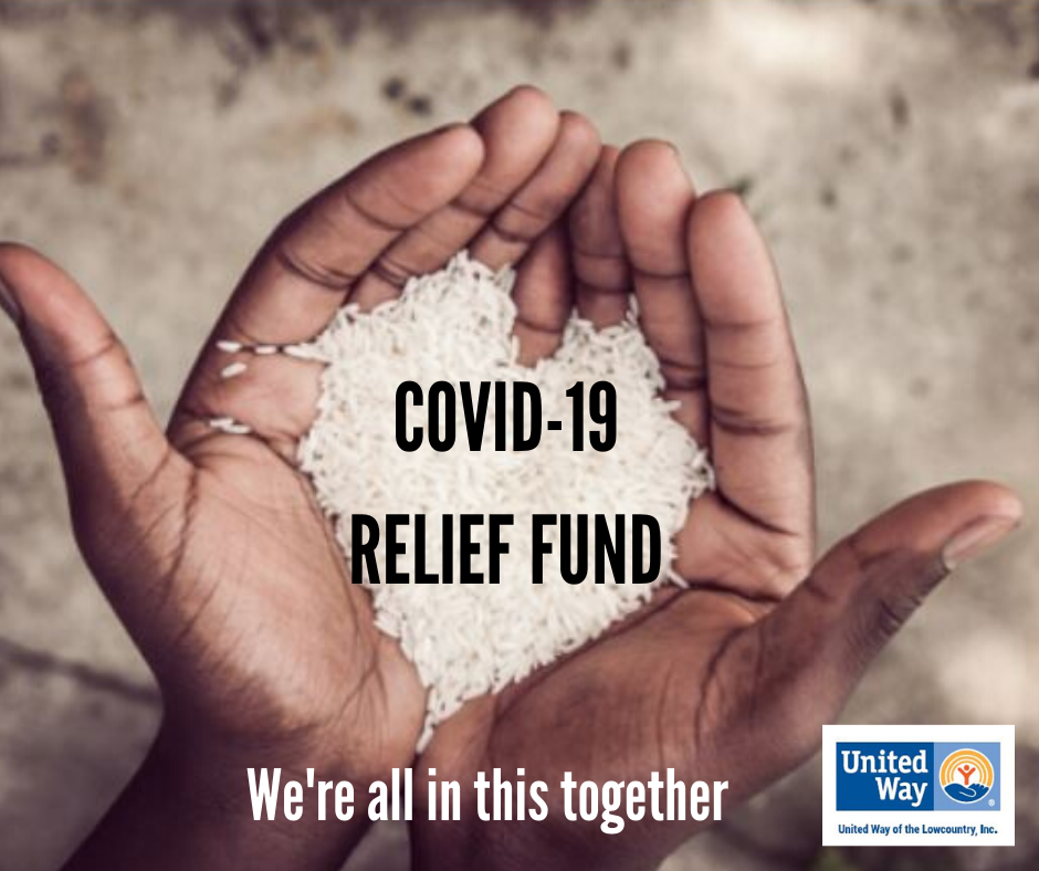 Covid 19 relief fund   hands