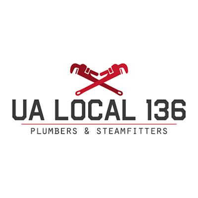 Logo   ua local 136