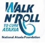 Walk n roll to cure ataxia logo