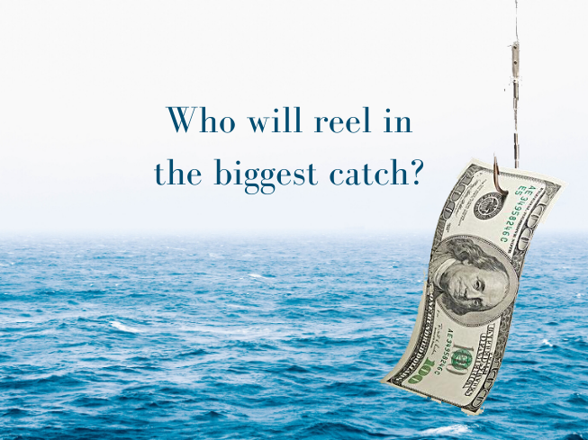 Who will reel in the most bills