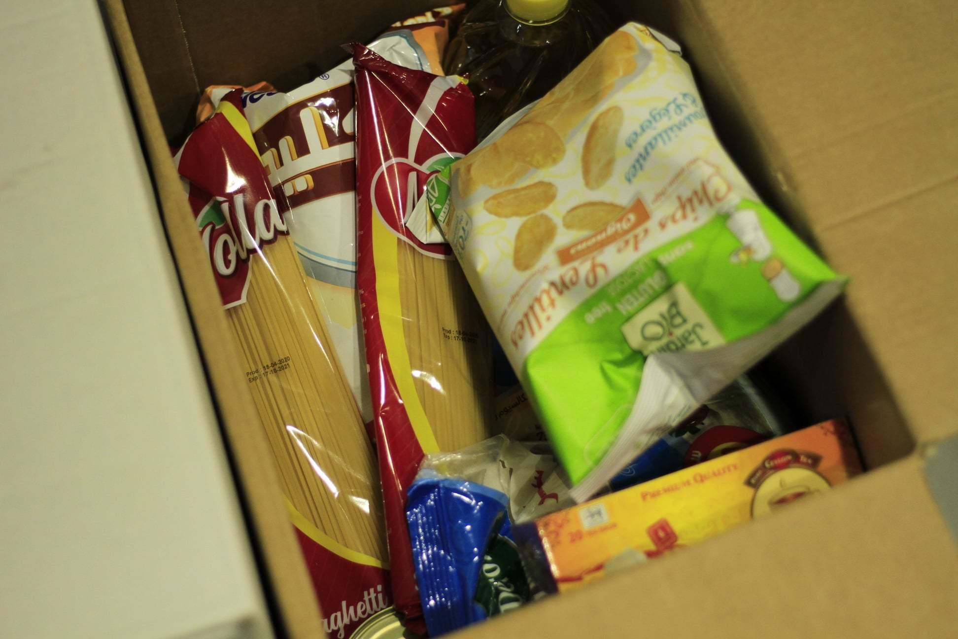 Food parcel aug 20