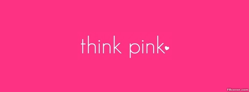Breast cancer think pink