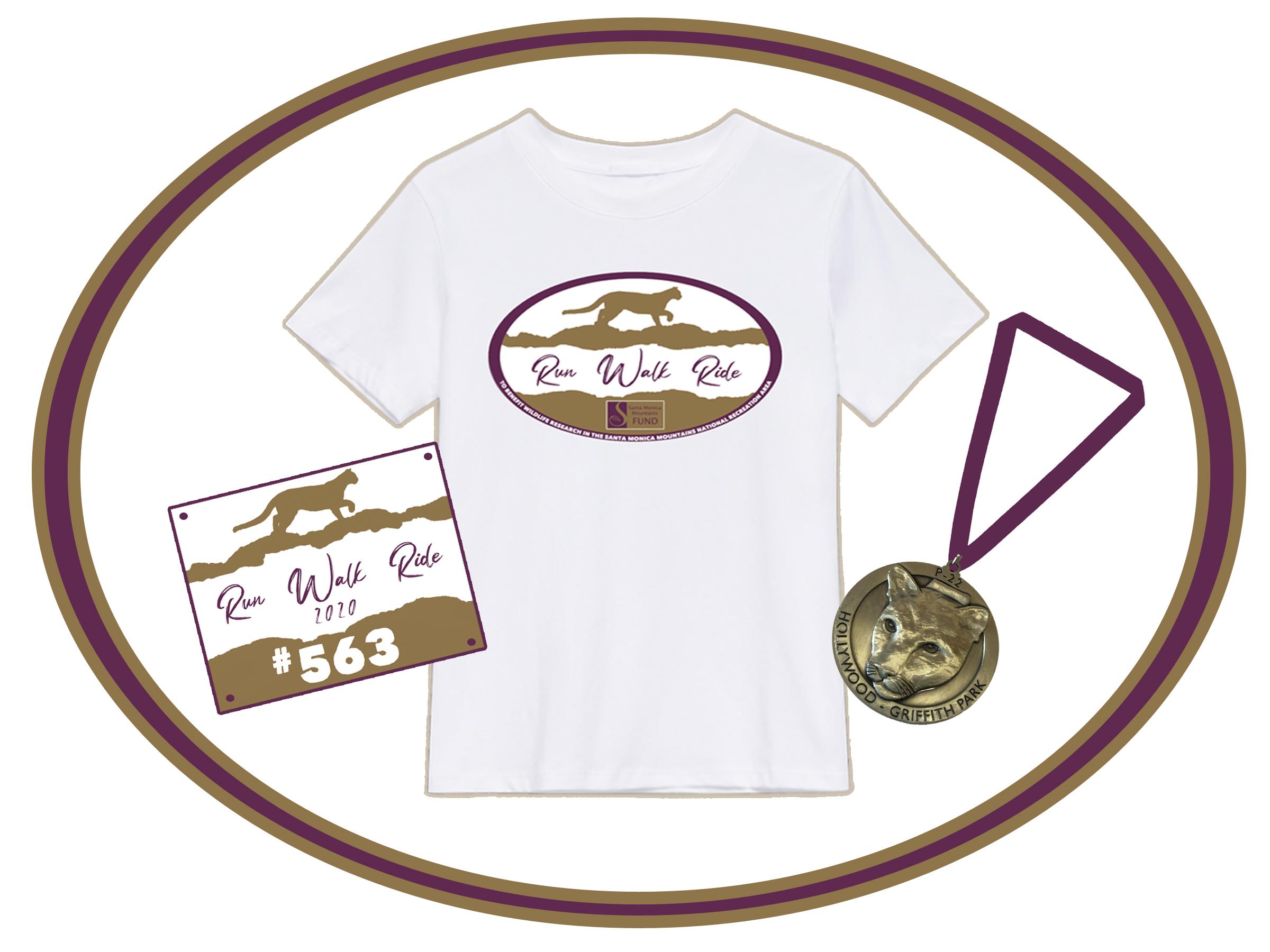 Bib shirt medal graphic